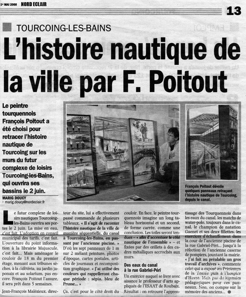 Articles pour tourcoing les bains fran ois poitout for Article pour le bain