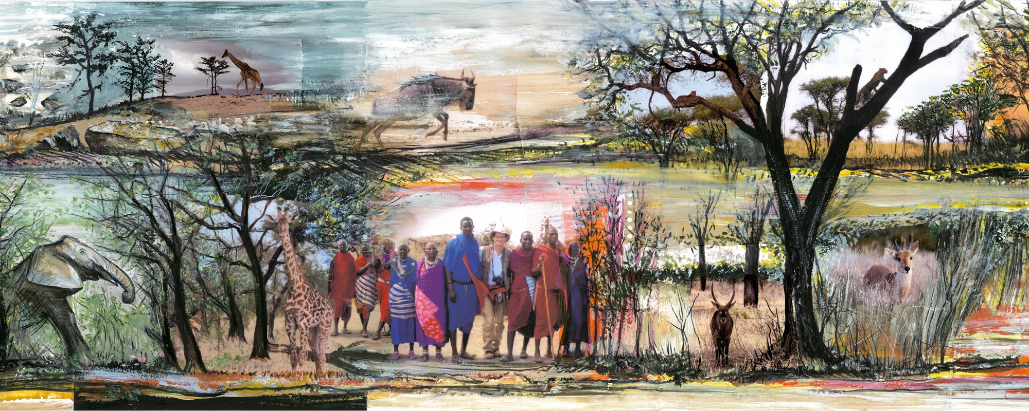 Grand Tanzanie avec elephant site